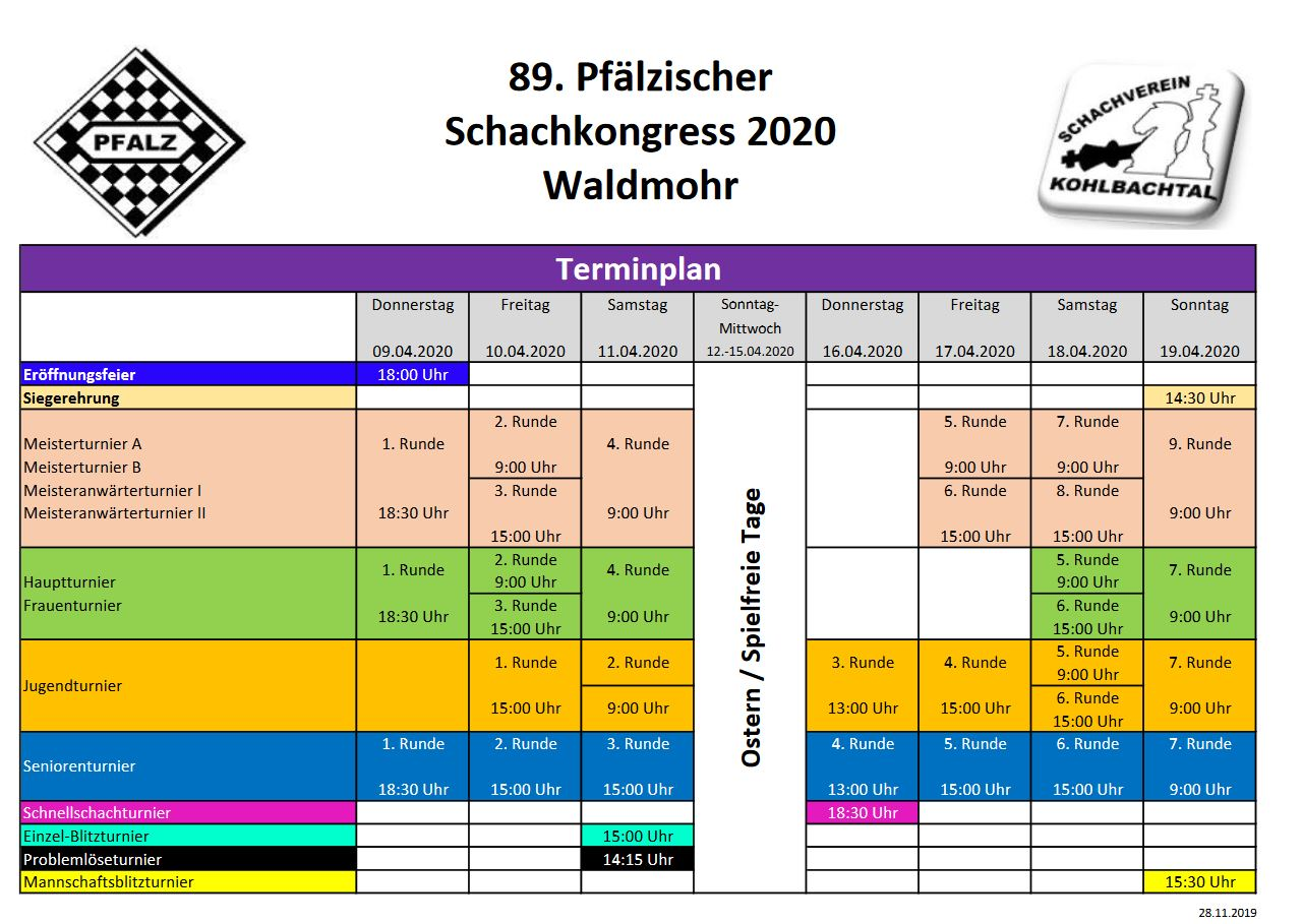 Schachkongress 2020